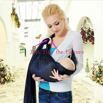 Baby Wrap Carrier Ring Sling Extra Comfortable Slings and Wraps for Easy Use CF