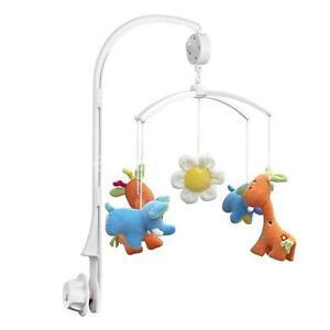 Infant Baby Crib Mobile Bed Bell Rotary Arm Holder Bracket Music Box Nursery LG