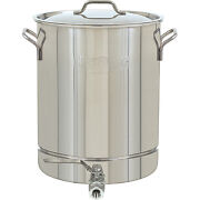 10 Gallon Stainless Steel Pot