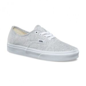 Vans Souliers Jersey Authentic blanc/gris, 07/W8.5 neuf