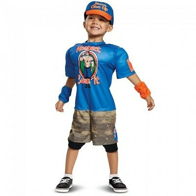 Disguise WWE John Cena Muscle Toddler Boys Wrestling Halloween Costume 66832](Halloween John Cena Costume)
