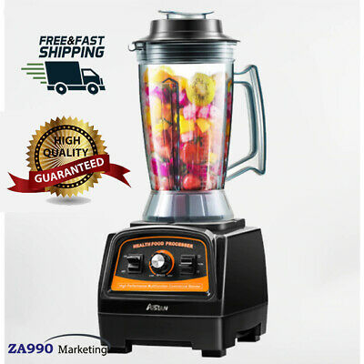 Commercial 2800w Kitchen Blender Mixer Juicer Smoothie Food Processor