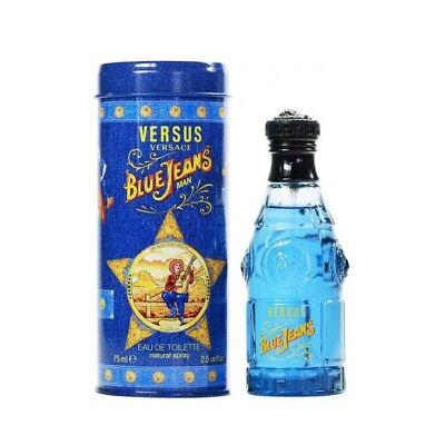 Versace Blue Jeans EDT 75ml Eau de Toilette Herrenduft Männer Duft For Him OVP