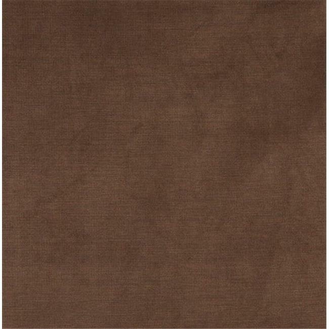 Designer Fabrics C173 54 in. Wide Brown Soft Luxurious Microfiber Velvet Upho...