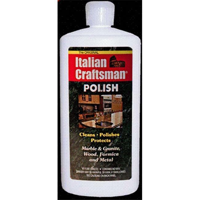 Italian Craftsman polish Marble and Granite Polish 16 oz Pack of 4