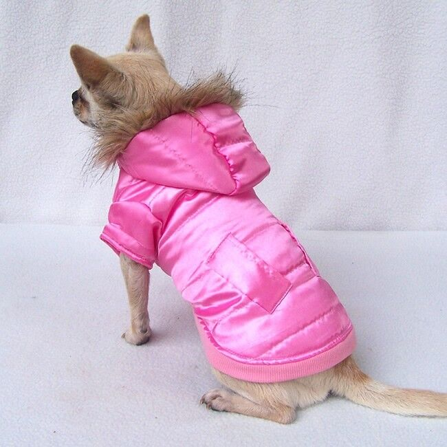 Fashion Chihuahua Dog Coat Winter Puppy Clothes for Small Pet Warm XS-XXL 6 size