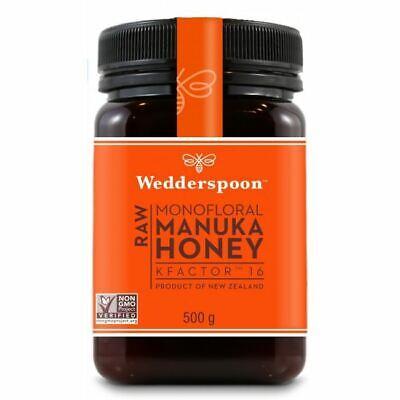 Wedderspoon Raw Manuka Honey Kfactor 16+ - 500g