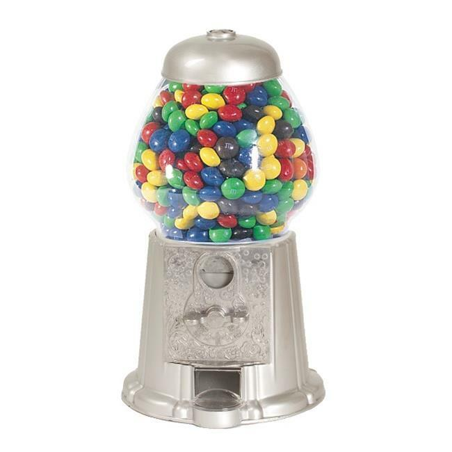 American Gumball Machine AGM11 Silver 11 in. old fashion gumball machine