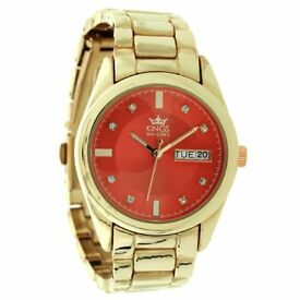 Kings Ladies Watch RED