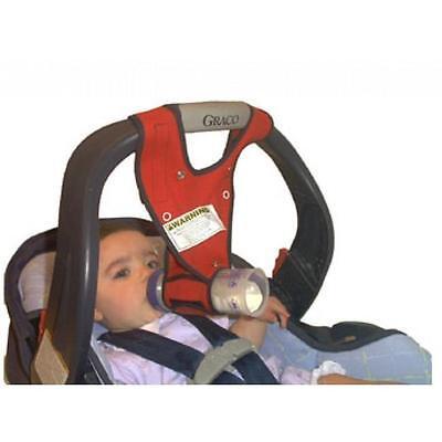 New Hands Free Baby Bottle Holder- Bebe bottle Sling Infant Feeding Red