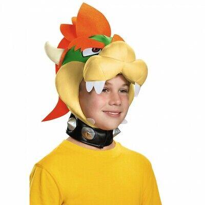 Disguise Nintendo Super Mario Bowser Kopfbedeckung Kind Halloween Kostüm - Bowser Halloween Kostüm