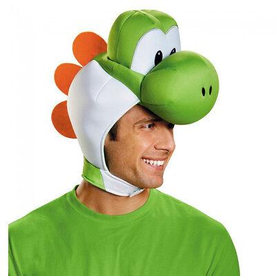 Yoshi Erwachsene Kopfbedeckung Super Mario Bros.Kostüm Kopfbedeckung Zubehör ()