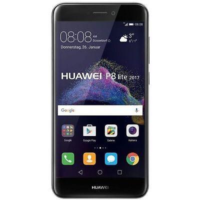 "HUAWEI P8 LITE 2017 5.2 ""pen 16GB 4G LTE PRETO marca italiana Warran 24 + FILM vidro"