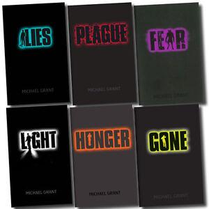 Gone Series Michael Grant 6 Books Set Plague, Lies, Hunger Pack, Fear, Light