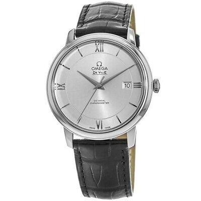 New Omega De Ville Prestige Co-Axial 39.5mm  Men's Watch 424.13.40.20.02.001
