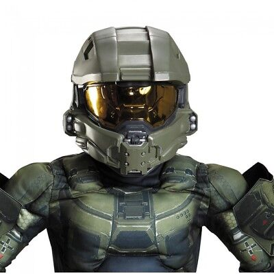 Disguise Halo Master Chief Kinder Halloween Kostüm Integralhelm Zubehör 89995 ()