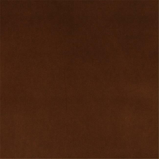 Designer Fabrics K0000M 54 in. Wide Sepia Brown Authentic Cotton Velvet Uphol...