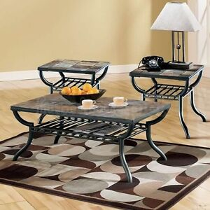 Ashley Furniture Slate coffee and end tables