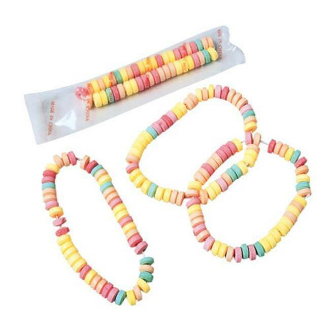 US Toy Company CA123 Neon Candy Necklaces-24-Bx