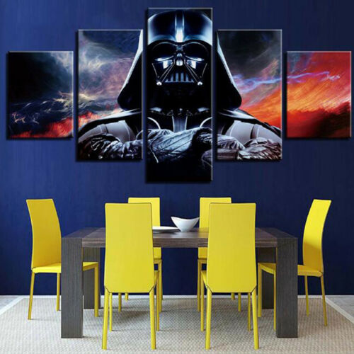 "12x22/"" Ahsoka Tano Darth Vader HD Canvas prints PVC Framed Home decor Pictures"