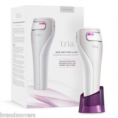TRIA Beauty Age-Defying Anti-Ageing Laser + FREE Homedics Myspa Brush + POUCH