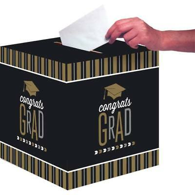 Glitzy Grad Card Collection Box Graduation Party Decoration Grad Card Box (Graduation Party Card Box)