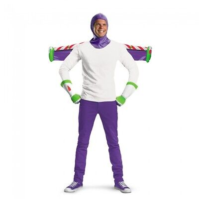 Disguise Toy Story Buzz Lightyear Woody Andy Adult Kit Halloween Costume 23432