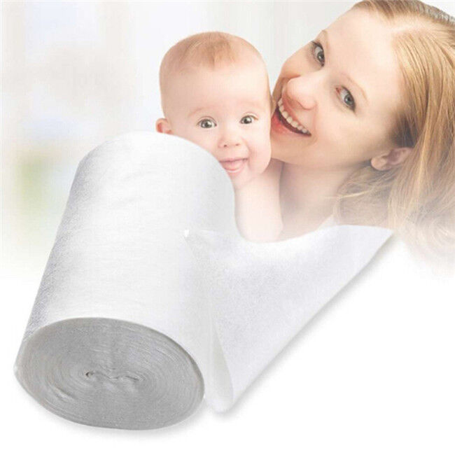 Baby Flushable Disposable Cloth Nappy Diaper Bamboo Liners 100 Sheets Jian
