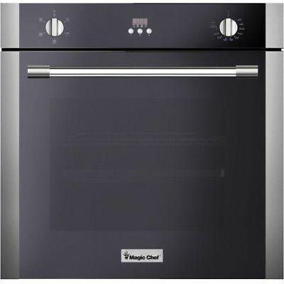 "Magic Chef MCSWOE24S 24"" Built In Wall Oven Fan Convection"