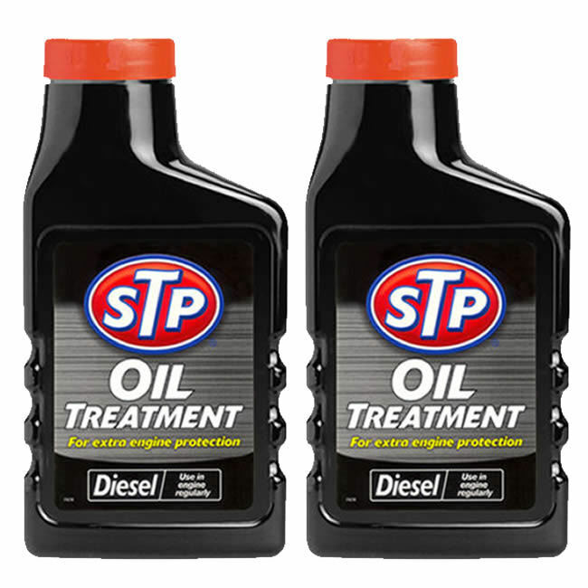2 x STP DIESEL OIL TREATMENT ENGINE PROTECTION ADDITIVE CAR VAN ENGINES 300ml