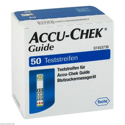 ACCU-Chek Guide 50 Blutzucker Teststreifen Neu + OVP