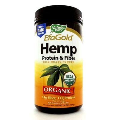 Hemp Protein & Fiber Powder 16 oz. By, Nature's Way  New Other: - Other Amino Acids