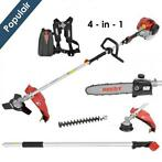 Hecht 1331 - 4 in 1 - Benzine multifunctionele tuinset | bos