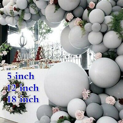 5/12/18 Inch Macaron Candy Colored Balloons Pastel Latex Balloons Party Decor - Pastel Color Balloons