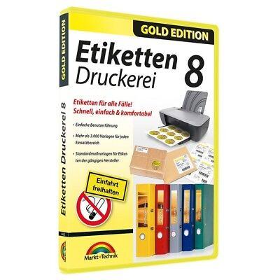 Etiketten Druckerei 8, Download (ESD), Windows