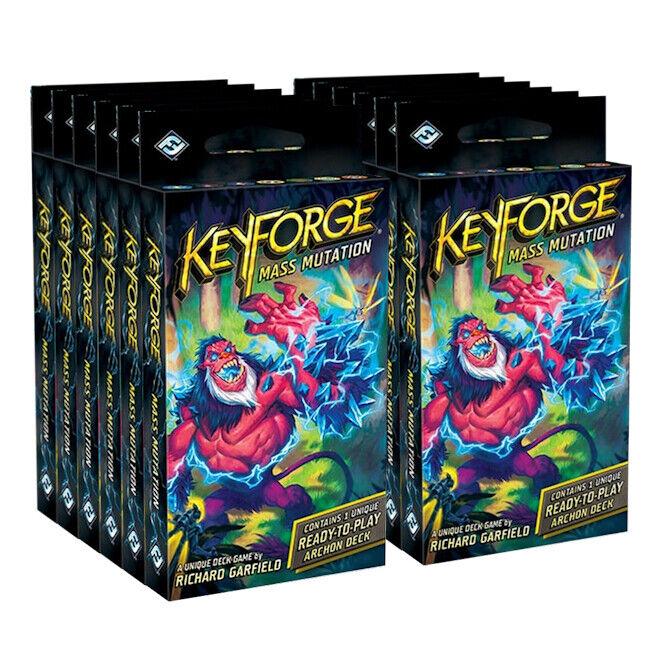 KeyForge Mass Mutation Archon Deck Display NEW & SEALED PRESALE SHIPS 7/10!