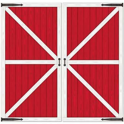 Barn Door Props Farm Birthday Party Decoration](Door Props)