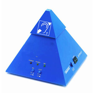 NEW Rechargeable Pyramid Induction Hearing Loop Listening Aid Assistant