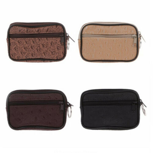 Unisex Card Coin Key Holder Zip PU Leather Wallet Small Pouch Bag Purse  LP