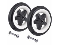 Bugaboo Bee (2010 model) front wheels replacement set NEW