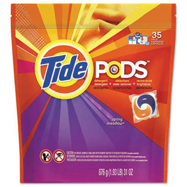 Tide 93127 Pods Laundry Detergent Spring Meadow