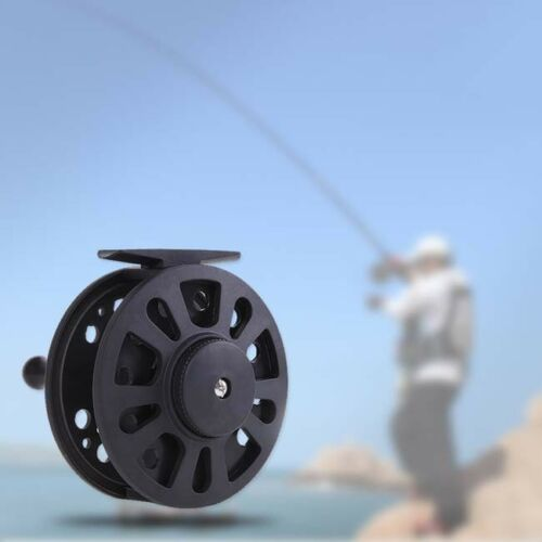 Fishing Reel Plastic Body Super Light Raft Fly Ice Sea Fish Wheel Reel Fish LA
