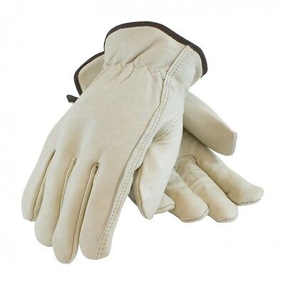 Cowhide Leather Work Gloves Dozen W Keystone Thumb Size Small To 2xl