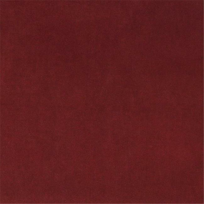 Designer Fabrics K0000O 54 in. Wide Burgundy Authentic Cotton Velvet Upholste...