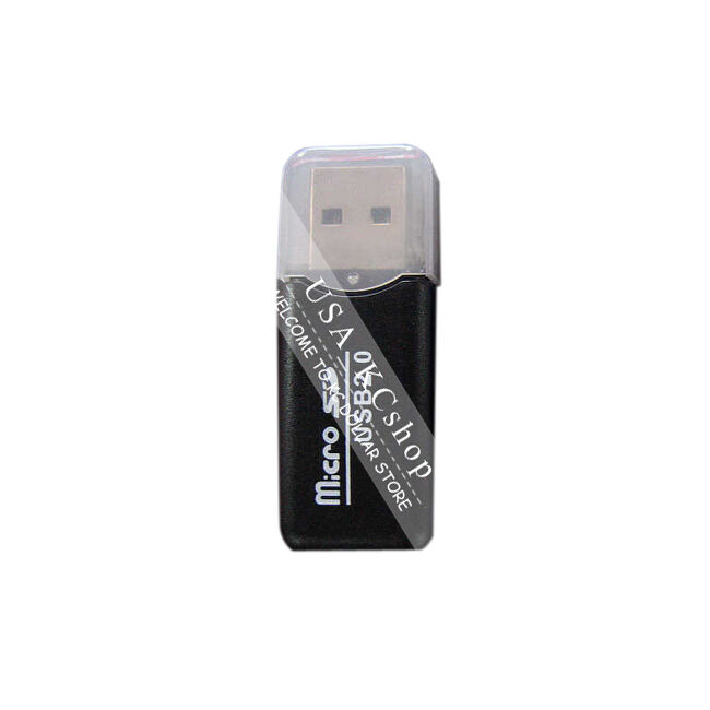 USB 2.0 MicroSD  T - Flash TFMic-SD Card Reader  Support to 8G 4G 2G 1G 520M
