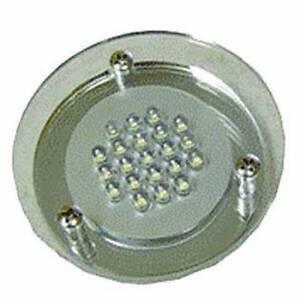 Camec 12V LED Plexi Spotlight with 21 LED Round & Clear Lens Para Hills West Salisbury Area Preview