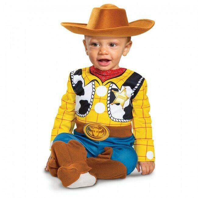 Disguise Disney Toy Story 4 Sheriff Woody Deluxe Infants Hal