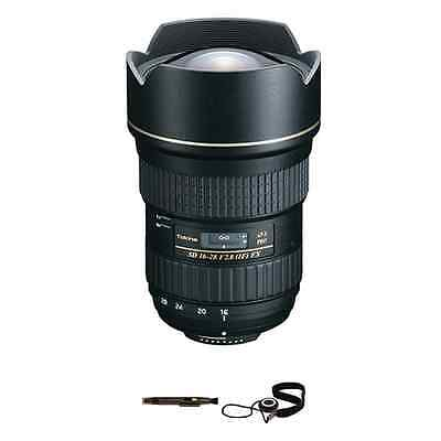 Tokina AT-X 16-28mm f/2.8 Pro FX Lens for Nikon Package