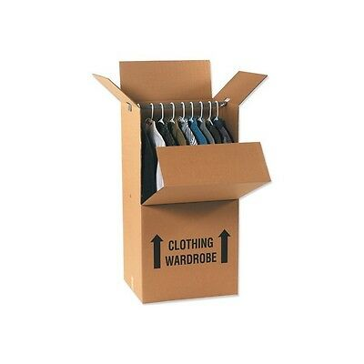 Wardrobe Boxes 24x20x46 Kraft 5bundle