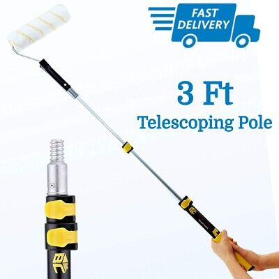 Long Extension Pole Handle For Painting Roller Cleaning Brush Adjustable Adapter